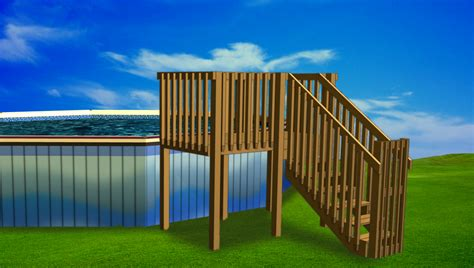 swimming pool discountersConnect-A-Deck Deck for Any Pool