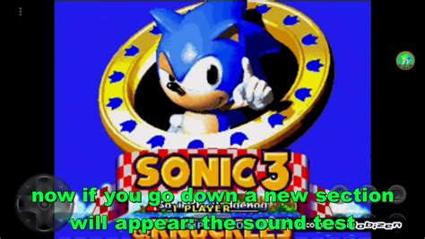 how to unlock debug mode in Sonic 3 & knuckles - YouTube