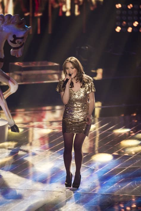 Caro Trischler in Katy Perry Performs on 'The Voice of