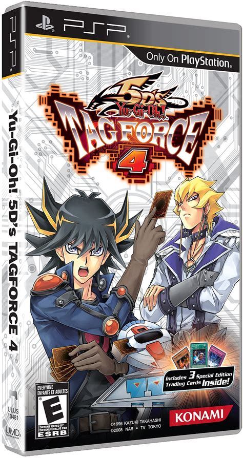 Yu-Gi-Oh! 5D's Tag Force 4 - PlayStation Portable - IGN
