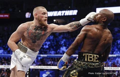 Mayweather wasn't wowed by McGregor's power » Boxing News