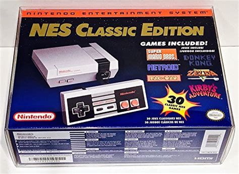 Box Protector for SNES and NES Classic Edition Mini