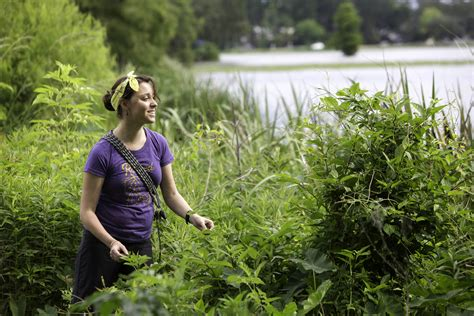 On the hunt for wild edible plants right in Baton Rouge