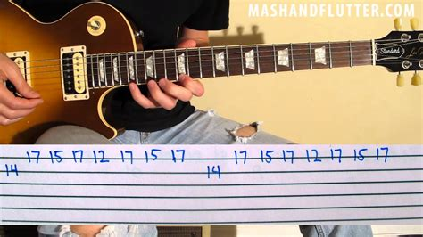 Slash: Anastasia Lesson w/ TAB by Mash and Flutter - YouTube