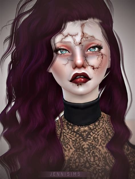 Downloads sims 4:Makeup Horror EyeShadow (13 Swatches