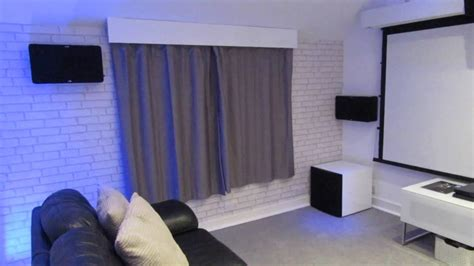 Smart Home Demo Room With Dolby Atmos Cinema - Premier