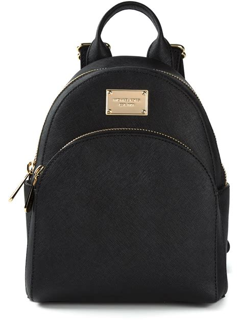 Michael kors Small Backpack in Black | Lyst
