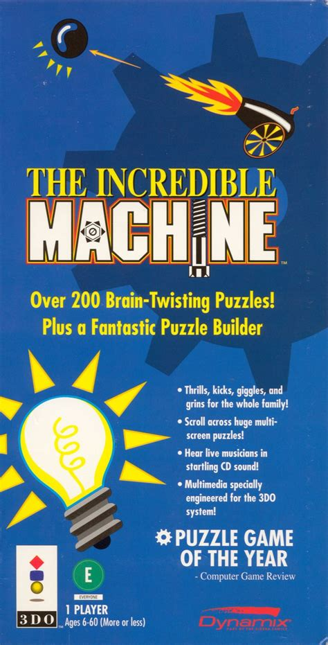 The Incredible Machine for 3DO (1994) - MobyGames