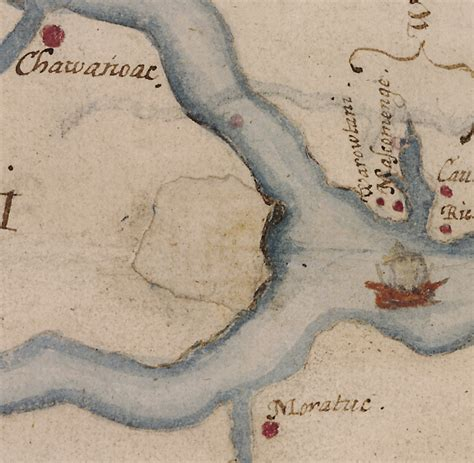 Map Markings Offer Clues to Lost Colony - The New York Times
