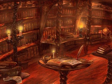 The Library Tower by Franz Miklis - Fantasy art galleries