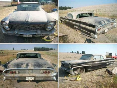 1959 Lincoln Continental Convertible Barn Find