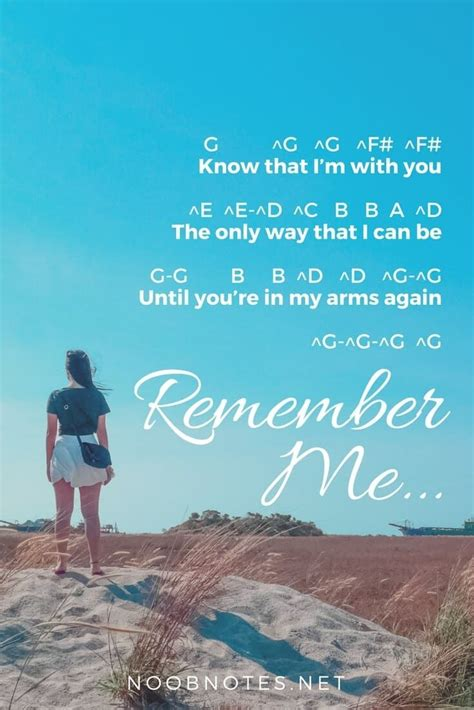 Remember Me - Coco (Disney   Piano sheet music letters
