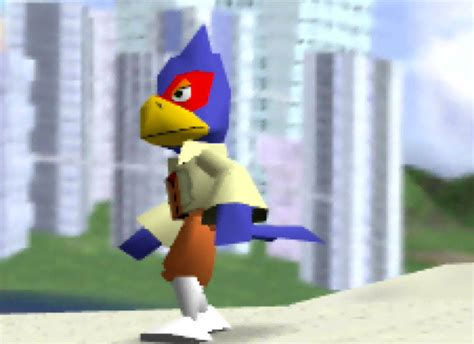 Jeez Laweez! You can now play as Falco in Super Smash Bros