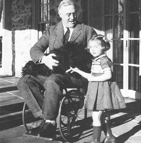 Franklin Roosevelt Is Struck with Polio