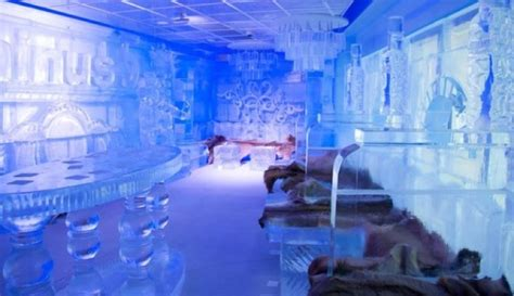 How The World's Most Glamorous Ice Bar Stays Frozen In The