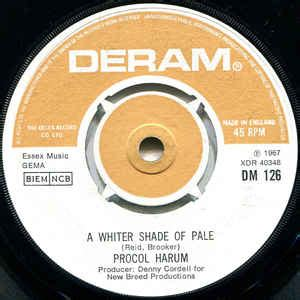Procol Harum - A Whiter Shade Of Pale (1967, Vinyl) | Discogs