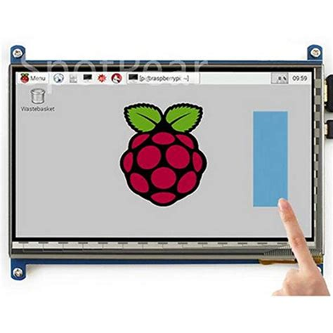 Raspberry Pi 3 1024x600 800x480 Capacitive 7 Inch Touch
