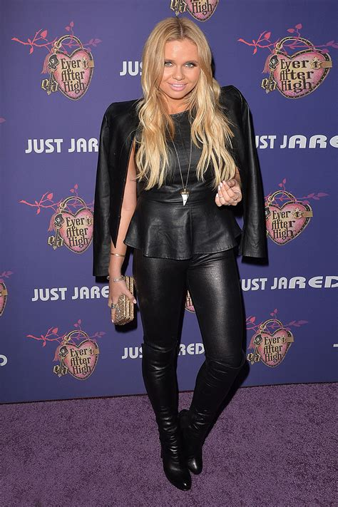 Alli Simpson at Just Jared's Homecoming Dance - Leather