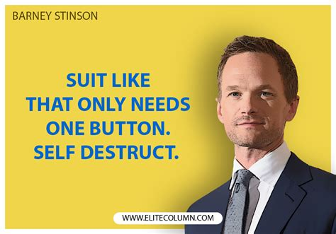 10 Barney Stinson Quotes from How I Met Your Mother