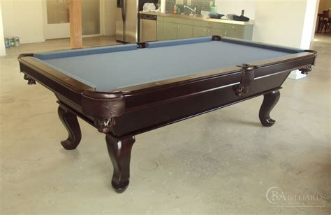 Queen Anne Pool Table   Pool Tables   Modern Pool Table
