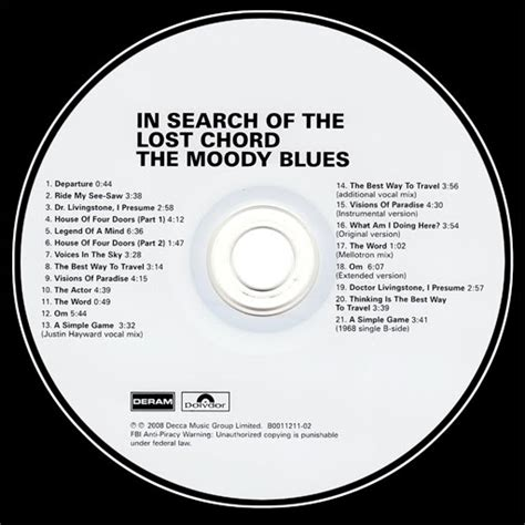 Point Blank Games: Moody Blues - In Search Of The Lost